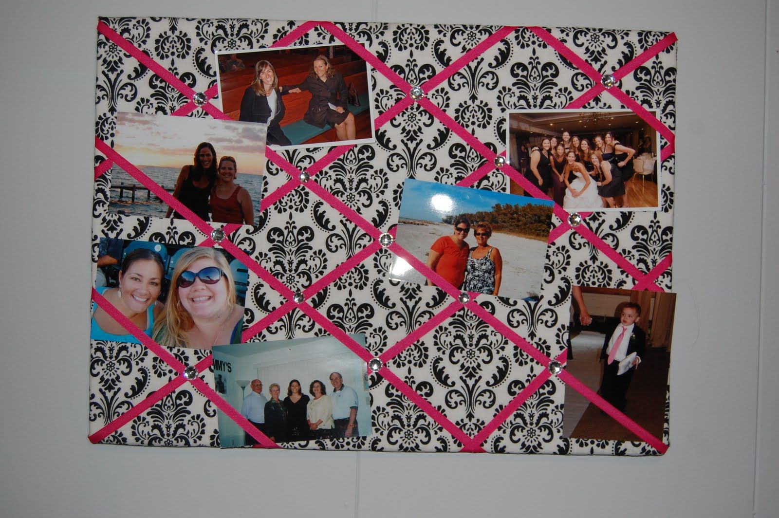 How To Make Material Picture Frames For Kids Collage Ribbon