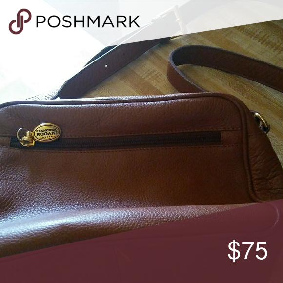 Rogani Crossbody purse Rogani Italian leather purse like brand new no marks  rips or tears no peeling no marks on the inside of the bag Francesco Rogani  Bags ... 5bd747ae06