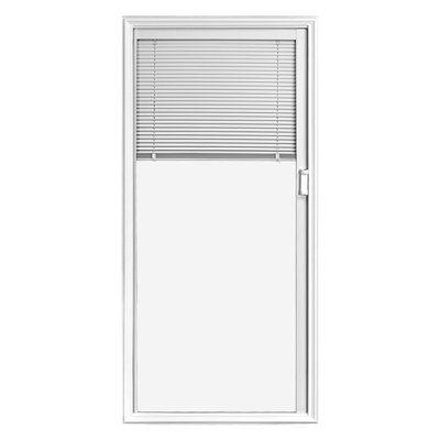 Jeld Wen Full Lite Blinds Between Glass Low E Clear Entry Door Glass