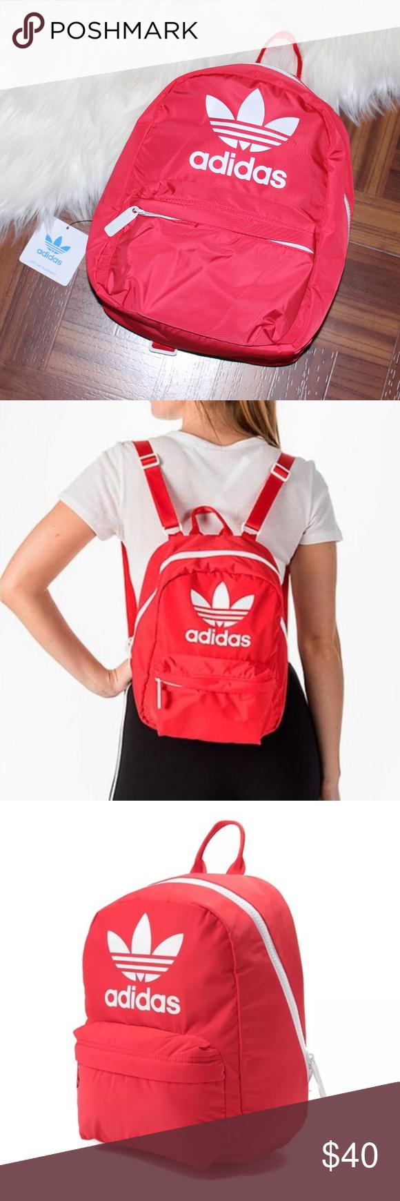a078d0daf38 View  los angeles c0c80 d082e NWT adidas Originals Trefoil Logo Mini  Backpack adidas Originals Mini Backpack ...