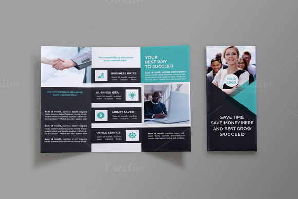 Business TriFold Brochure  Meg By Graphicsauthor  Templates