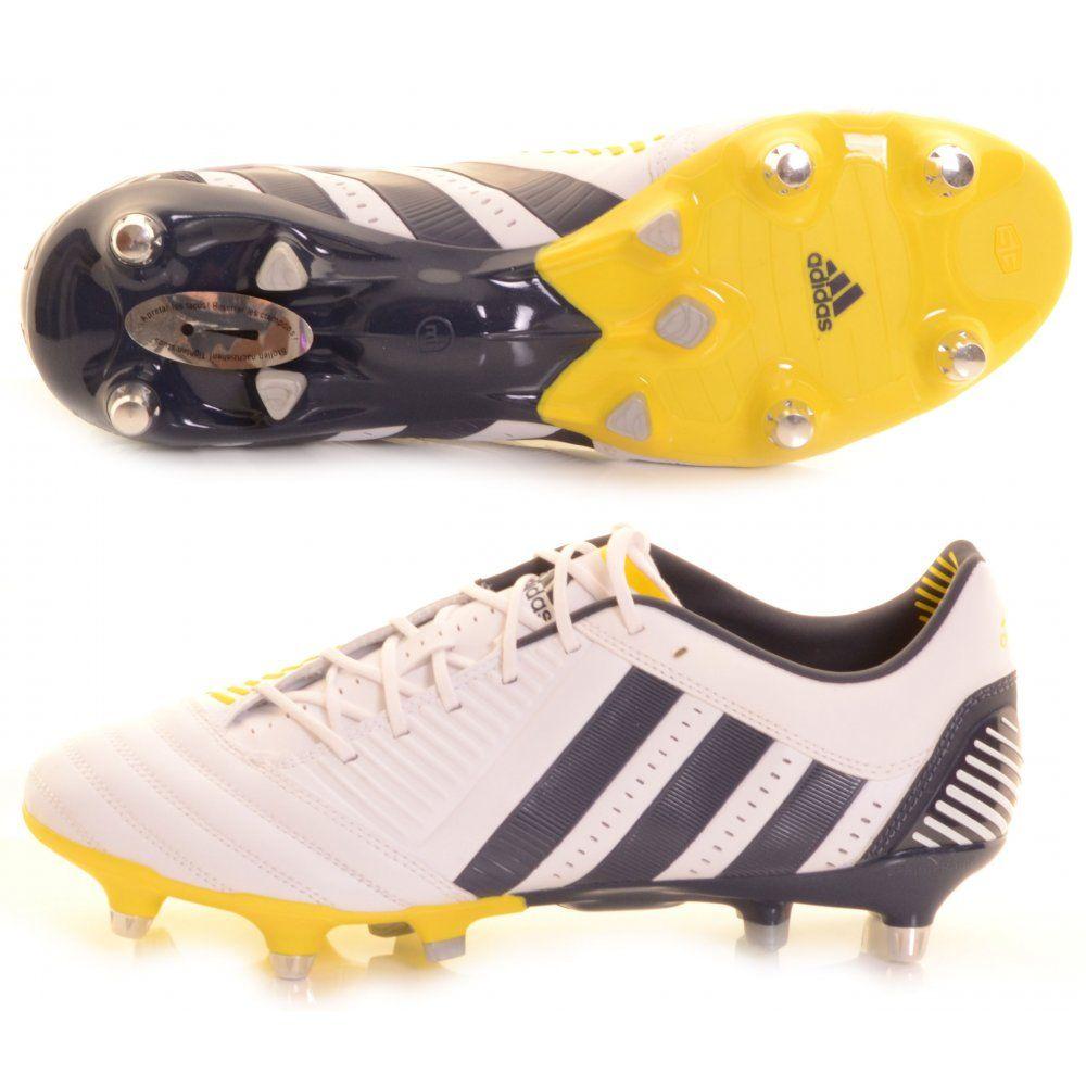 Adidas Predator Incurza XT SG Rugby Boot White c507c60f1eaa