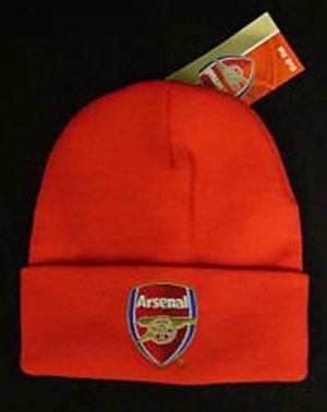 1bea021b2d8 Arsenal F.C. Knitted Hat Red Tu by Home Win.  13.70. Arsenal fc red bronx