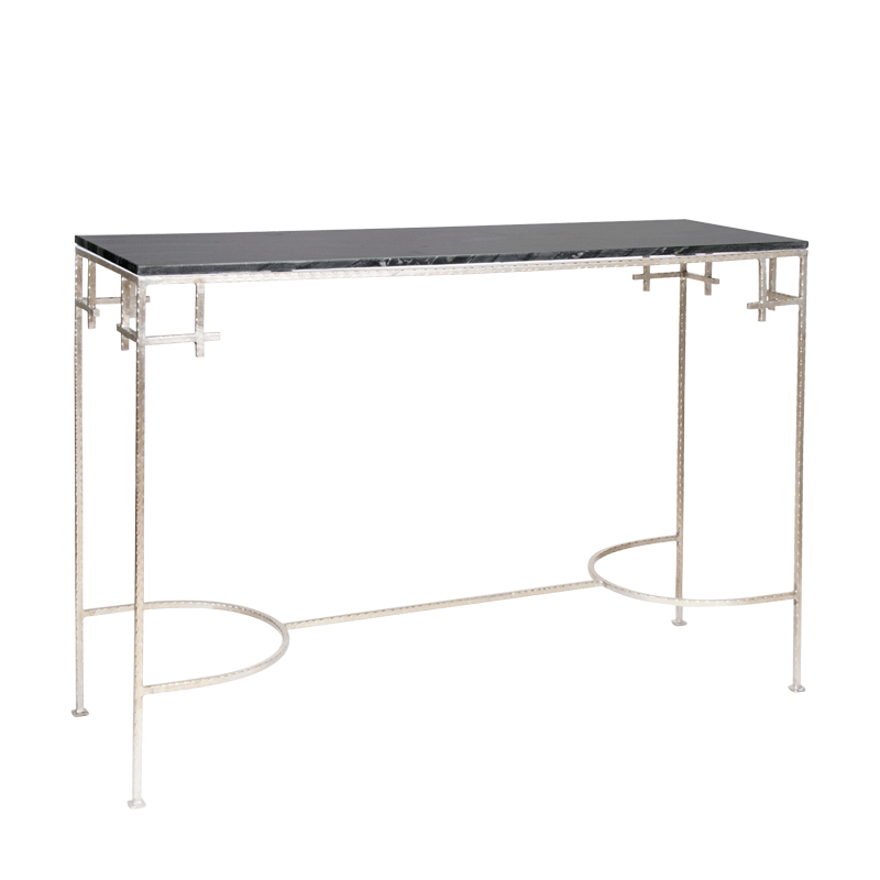 Marcy Sb Console Tables Tables Collection W 48 D 16 H 33 4foot 1622 50 Silver Console Table Console Table Art Deco Console Table