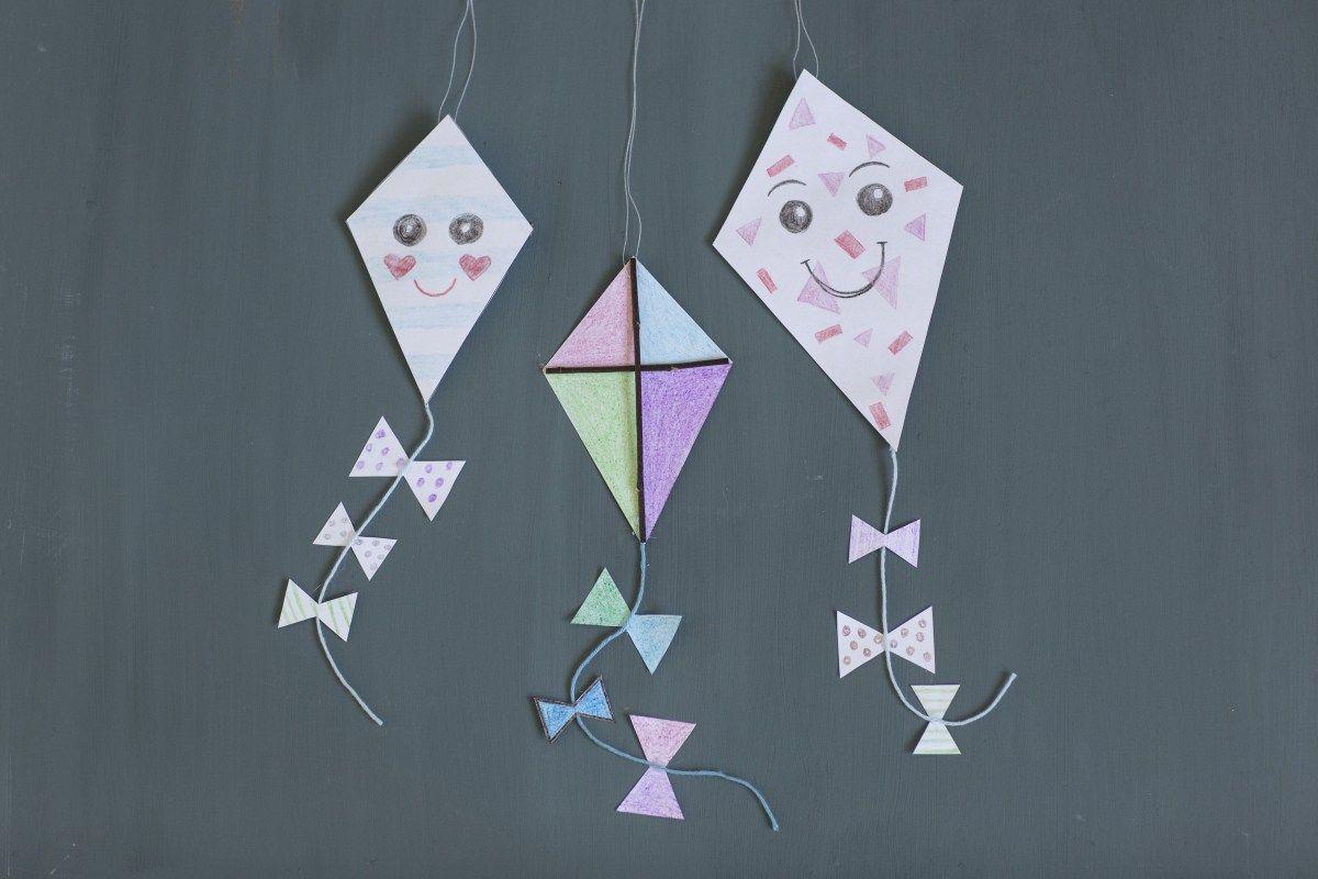 Diy Met Takken : Maak een vlieger van papier en takjes diy van pinterest