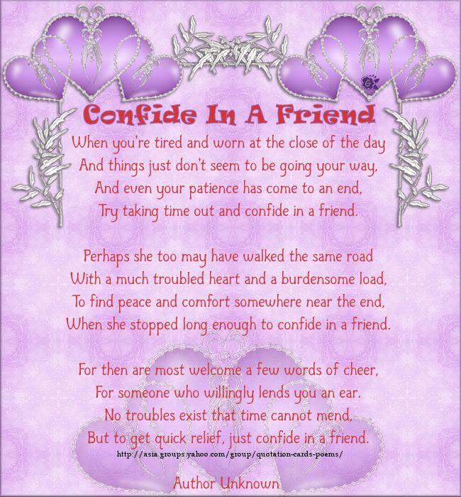 Inspirational Friendship Poems   gcs_friendship-Unknown ...