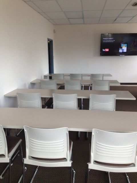 KI Portico Tables:  Clean simple styling; Exceptional durability; Affordable pricing.    KI Strive: Simplicity; comfort; durability.   #ispyki #educationandtraining #trainingenvironments