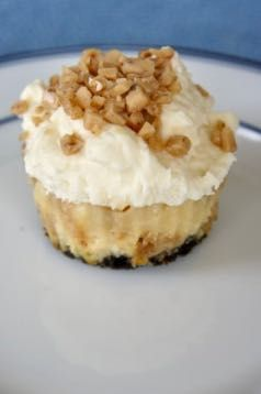 Mini Toffee Cheesecakes: Savory Sweet and Satisfying