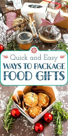 Giving food gifts this holiday season? Make them extra special with pretty packaging! From containers to liners and labels here's what you need to know to create beautifully packaged edible gifts for your friends and family. #foodgifts #ediblegifts #simplyrecipes #prettypackaging