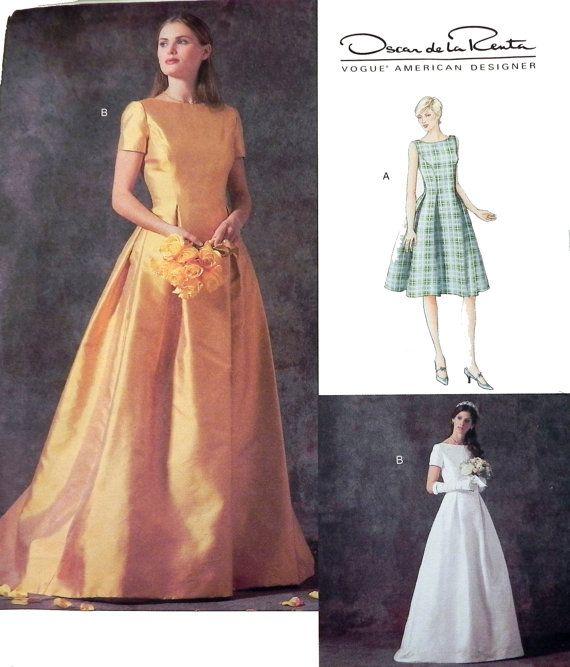 Vogue 2512 Oscar de la Renta sewing pattern