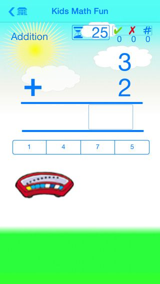 Kids Math Fun — Kindergarten ($0.99 - sale 0.00 on 7/6/14 ...