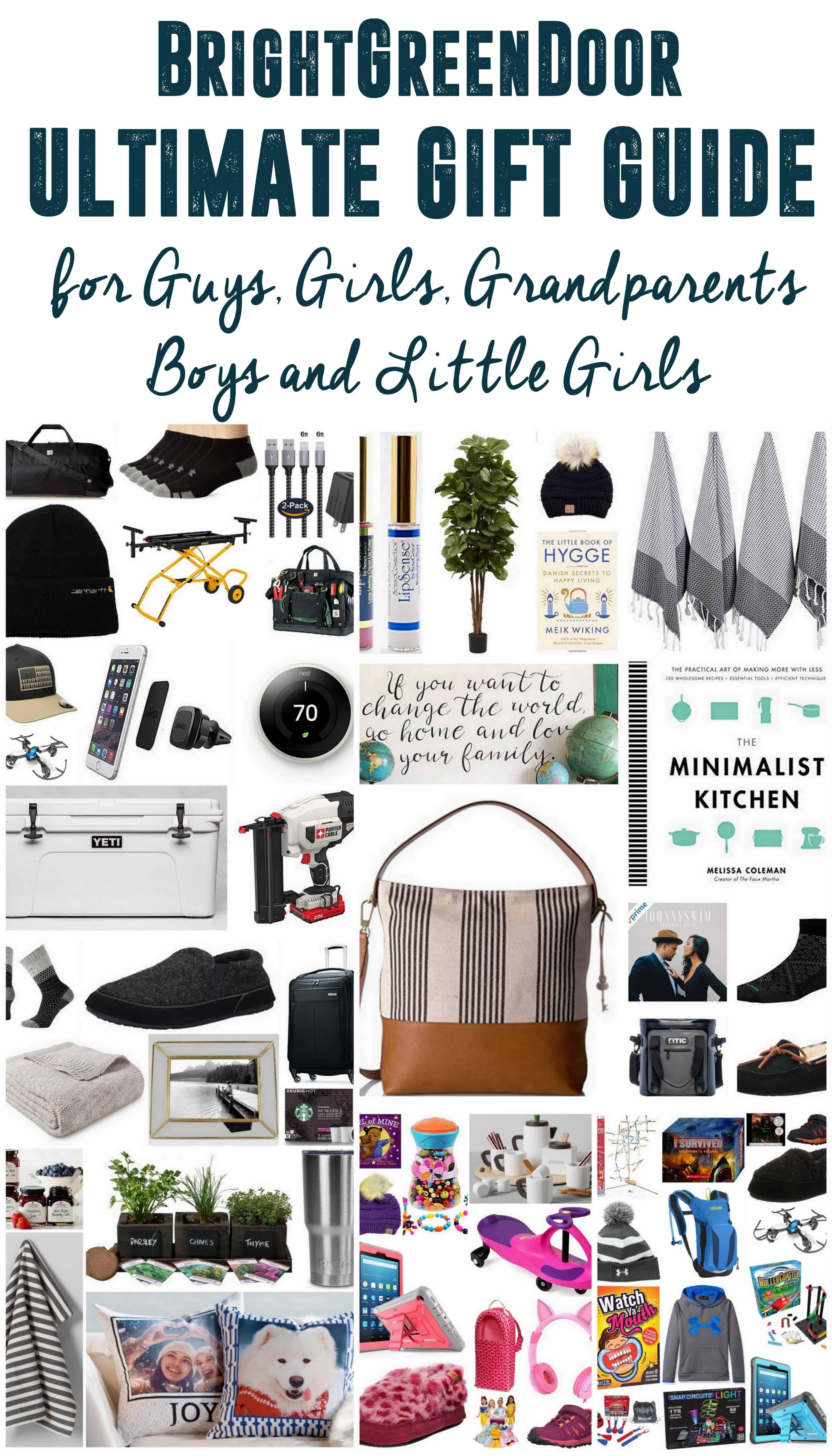 Ultimate Gift Guide Of Christmas Gift Ideas For Girls Guys Little Girls Boys Ultimate Gift Guide Christmas Presents For Men Presents For Men