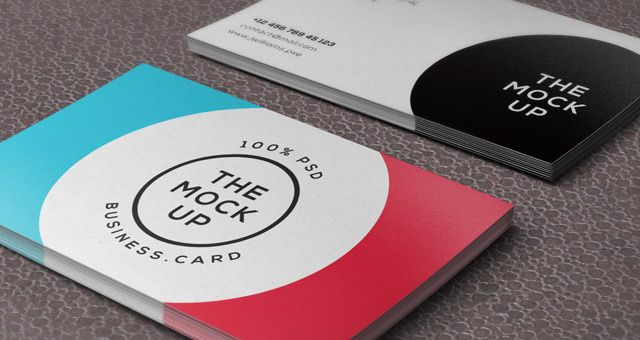 Business card mock up free psd free design materials business card mock up free psd reheart Images