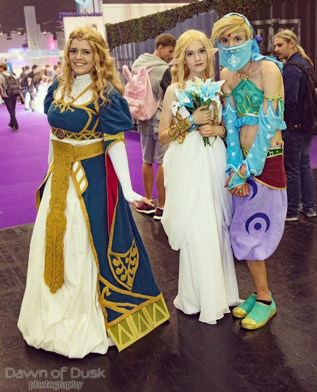Pin By Tamtaro P On Zelda Botw Cosplay Royal Dresses