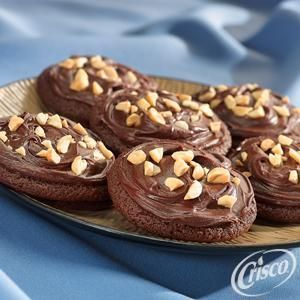 Chewy Fudge Cookies from Crisco®
