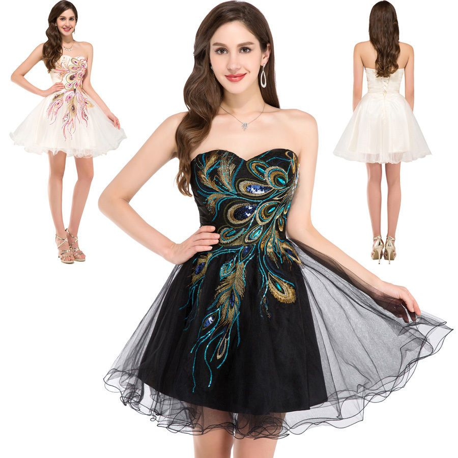 Women dinner dance summer graduation party formal evening short mini