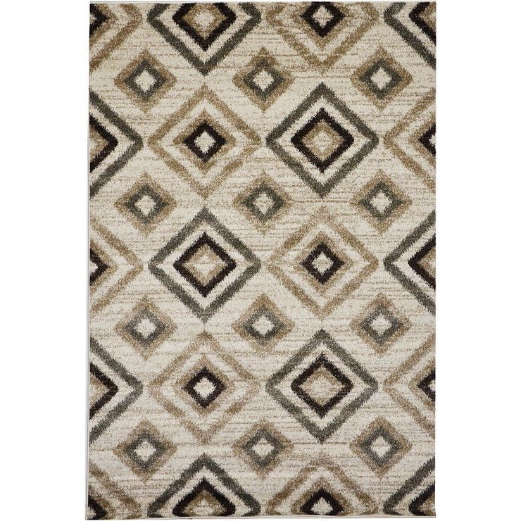 D395 Mozart Diamond Beige 8x10 Area Rugs Affordable Area Rugs Rugs
