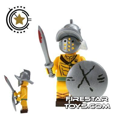 Custom Design Mini Figure - Jasbrick Gladiator | Jasbrick Custom Design | Custom Design Minifigures | FireStar Toys