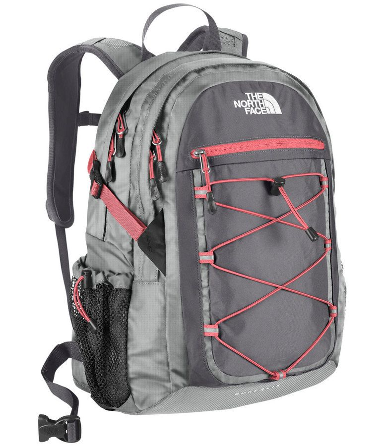 Love the pink and grey combo on this backpack! The North Face Women`s  Borealis Daypack. a8e50369307bb