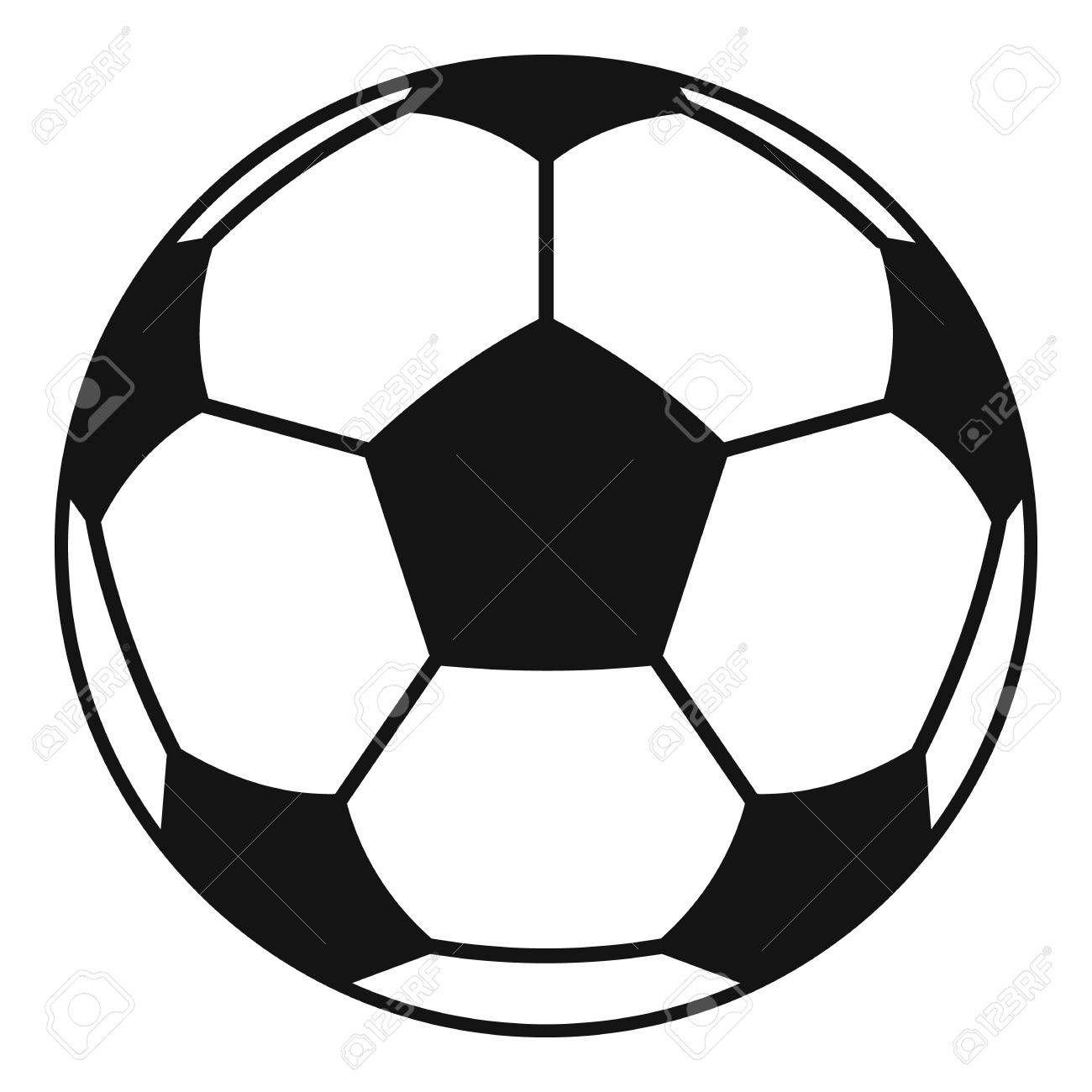 Icono De Balon De Futbol O Futbol Ilustracion Simple De Icono De Vector De Futbol O Balon De Futbol Para Web Balones De Futbol Dibujo Balon De Futbol Futbol Frases De