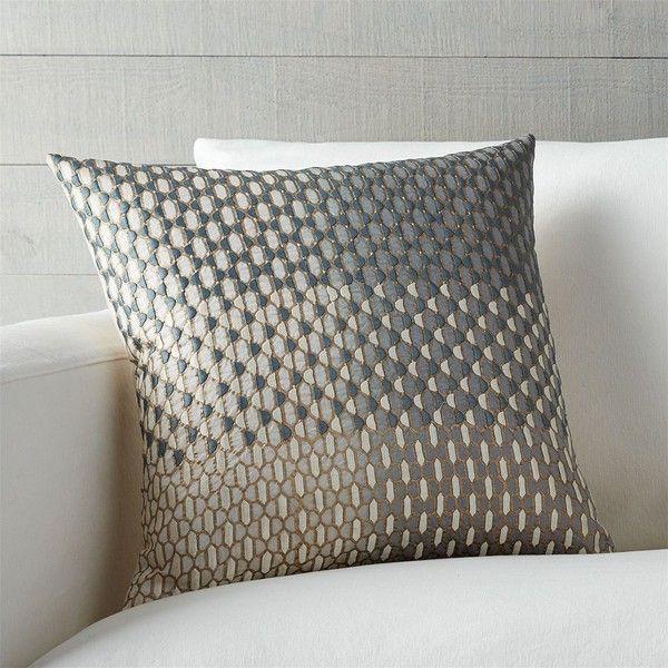 Crate Barrel Nikolai 40 Pillow With FeatherDown Insert 40 Inspiration Crate And Barrel Decorative Pillows