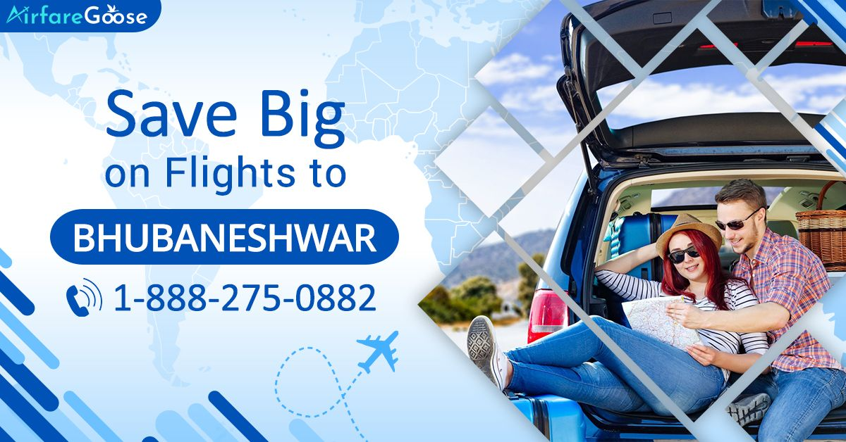 Save Big on Cheap Flights to #Bhubaneswar. Hurry! Book your flight with #Airfaregoose.  For more information, call us at -1-888-275-0882 (Toll-Free).   #TravelDeals #TraveltoBhubaneswar #CheapAirfare #CheapAirticket #Travel #Tourism #vacations #Destinations #Cheaptravel #bookflightstoday