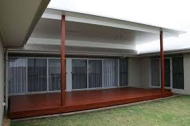 Image Result For Reverse Skillion Verandah Roof With Flyover Patio Roof Timber Deck House Design