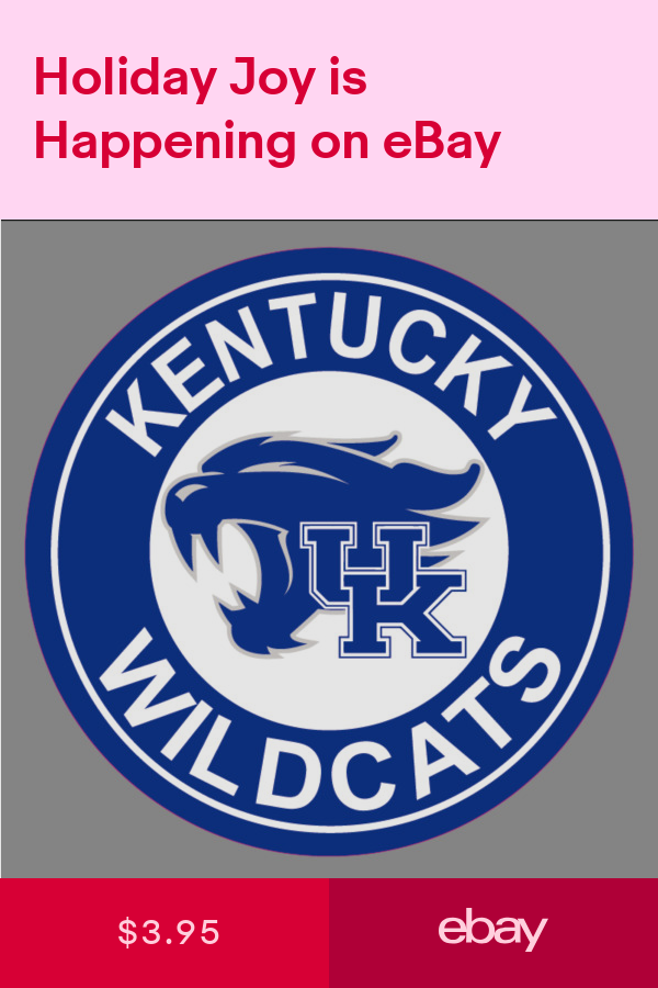 College Ncaa Sports Mem Cards Fan Shop Ebay With Images Uk Wildcats Basketball Kentucky Uk Wildcats