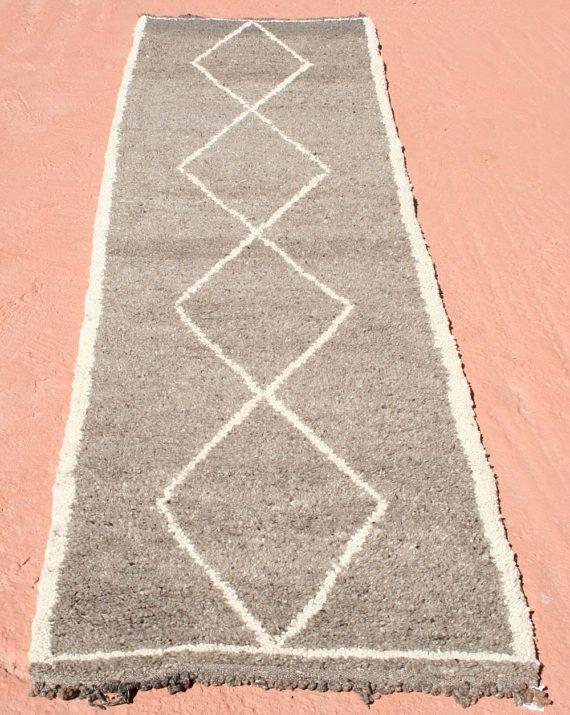 Läufer 80x300 gray runner beni ourain runner rug gray rug runner 3x10 grey