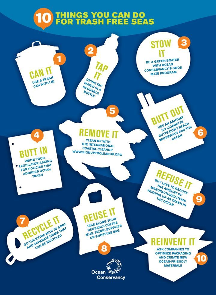 10 Things You Can Do For Trash Free Seas Credit Ocean
