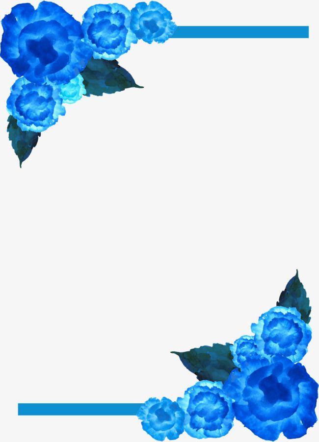 Blue Rose Border Blue Rose Blue Roses Rose