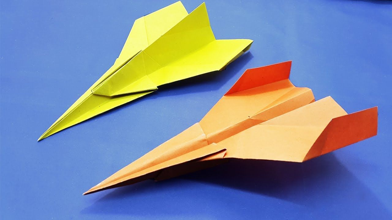 Origami Airplane Easy For Beginner | Fastest Paper Airplane