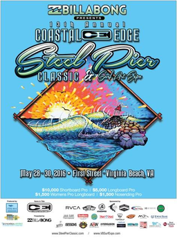 Steel Pier Classic Surf Art Expo Complete Schedule Of Events Surf Art Surfing Surf Competition