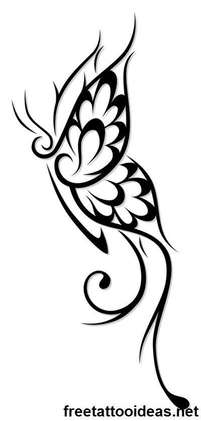 Butter Fly Ink Http Www Freetattooideas Net Butterfly Tattoos Tribal Butterfly Tattoo Butterfly Tattoo Designs Tribal Butterfly