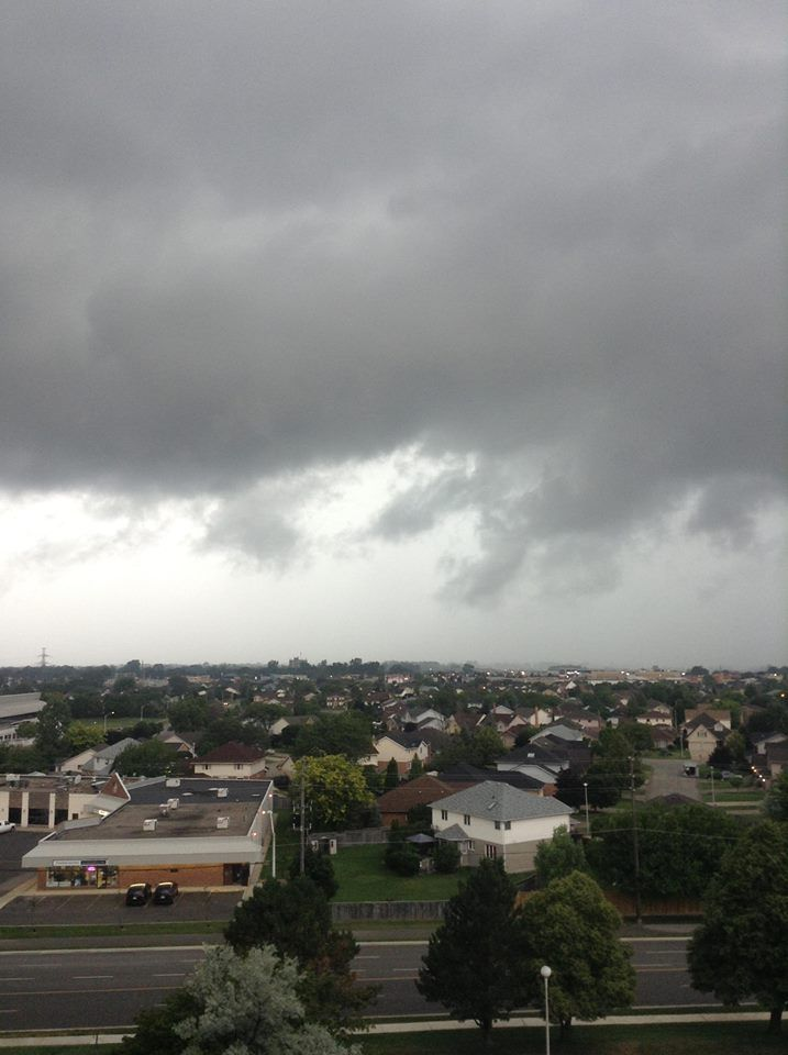 Severe Thunderstorm Warning Issued Thunderstorms