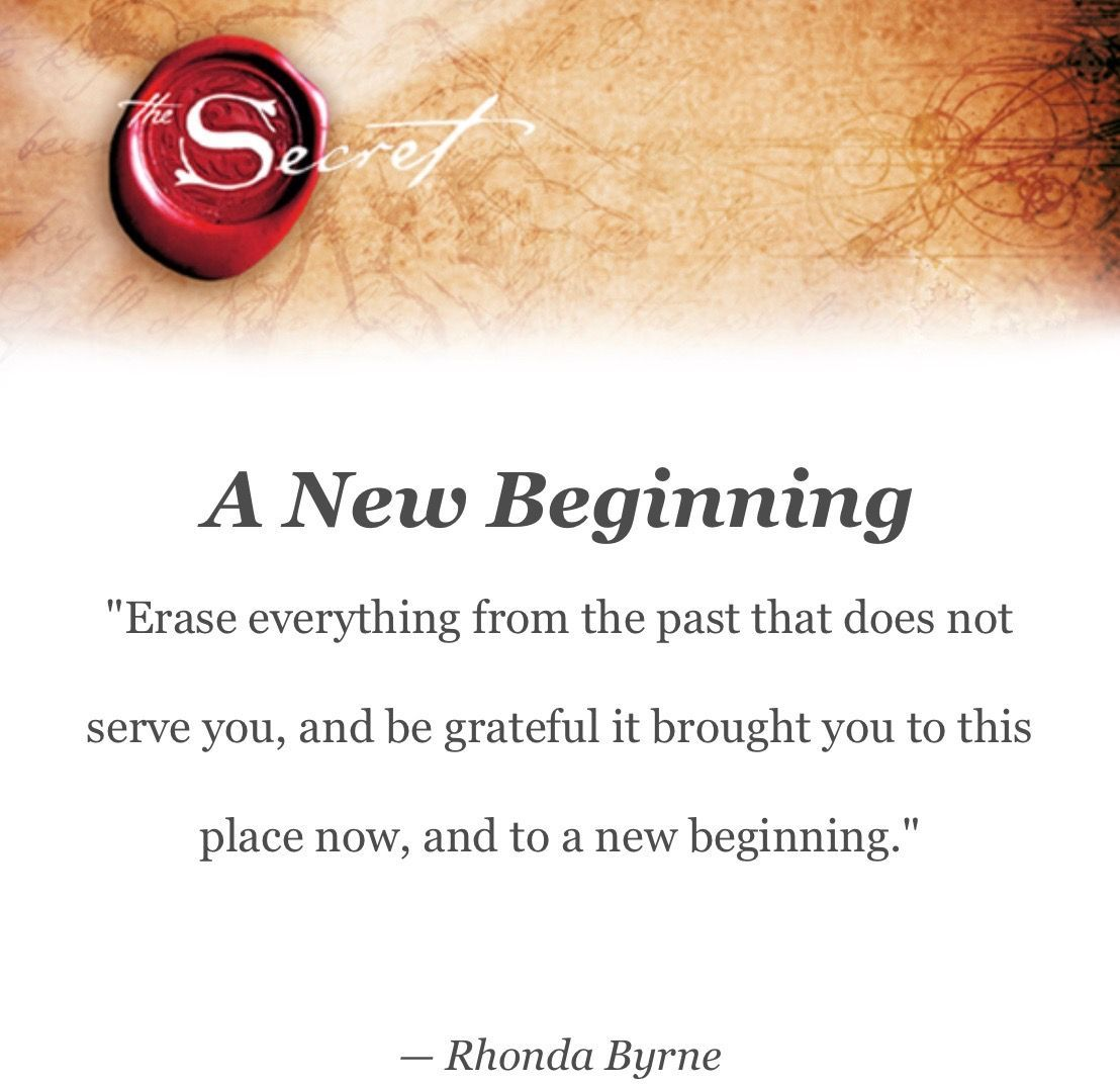 A New Beginning With Images