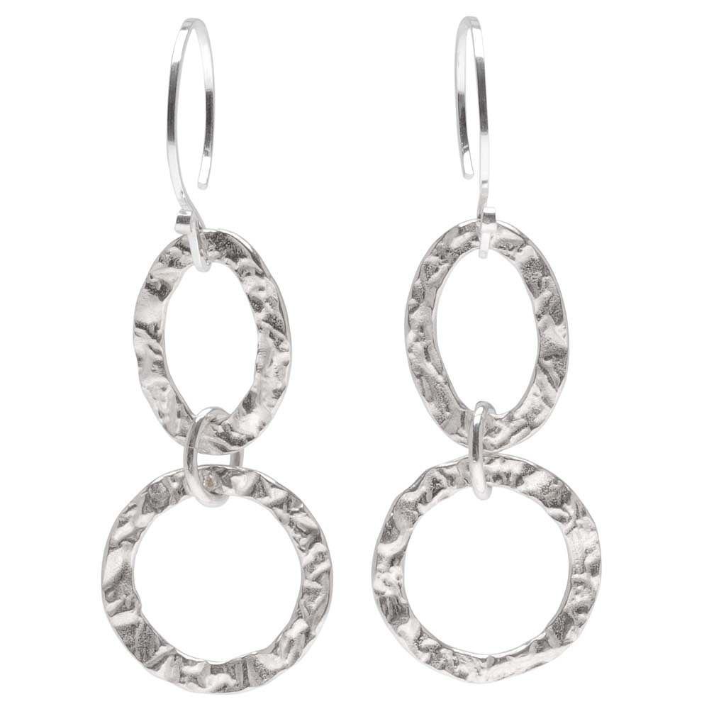 Free Tutorial Get Hammered Earrings