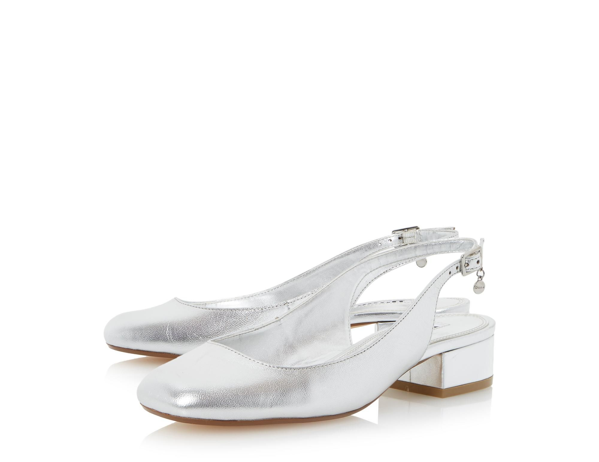 f042f6e7cc25 This stylish slingback court shoe is a cute everyday wardrobe staple.  Featuring a mid block heel