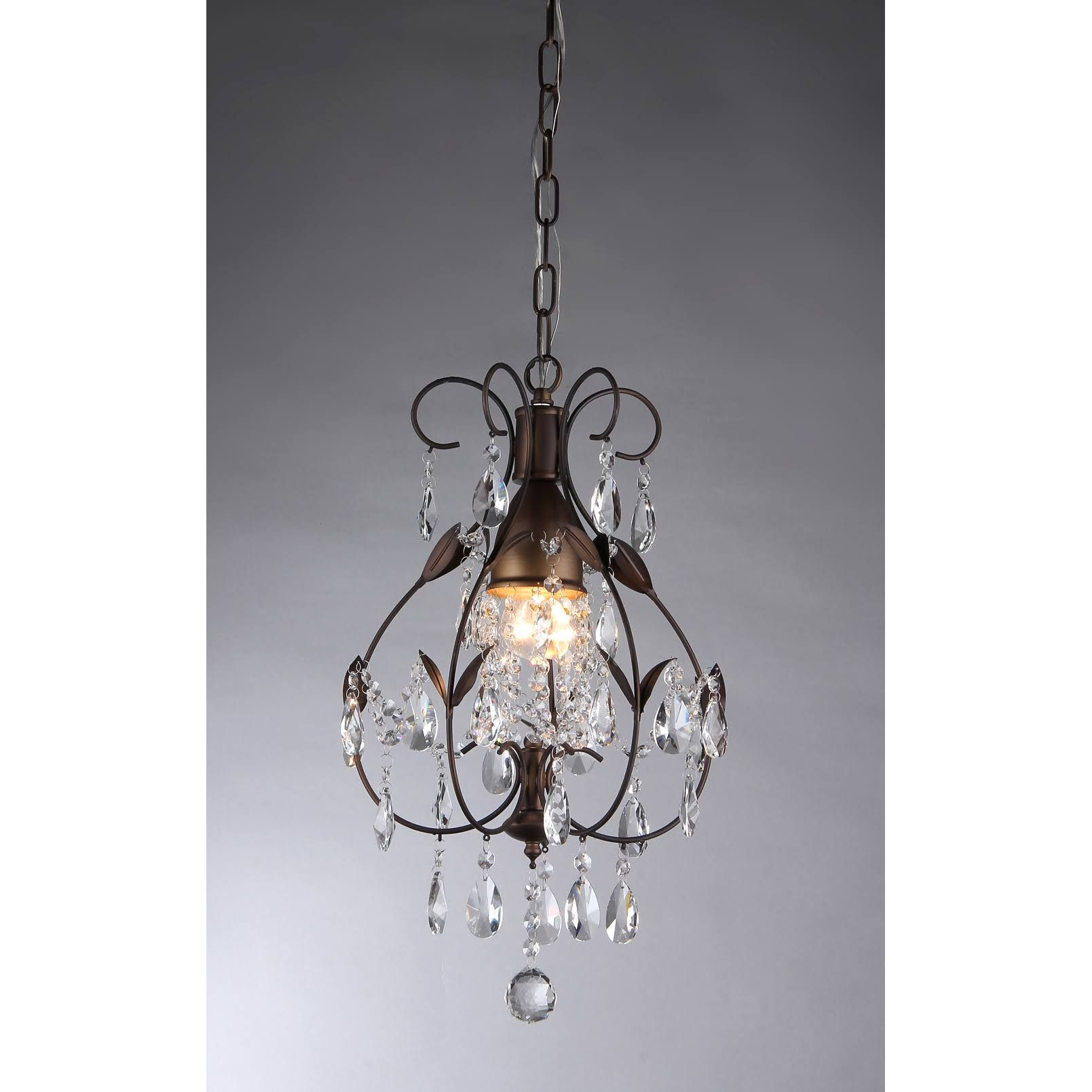 Over The Bathtub? Warehouse Of Tiffany RL8052 Maleficent Chandelier