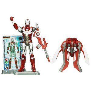 Iron Man Hot Zone Armor Iron Man 2 Action Figure 4 Inches Tall And Includes Retractable Wings Display Stand Marvel Figure Action Figures Toys Marvel Iron Man