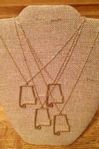 State of AL necklace - Studio 3:19