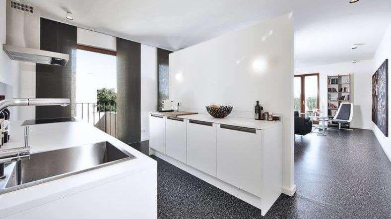 Cucina e soggiorno separati | Livingroom | Pinterest | Kitchens