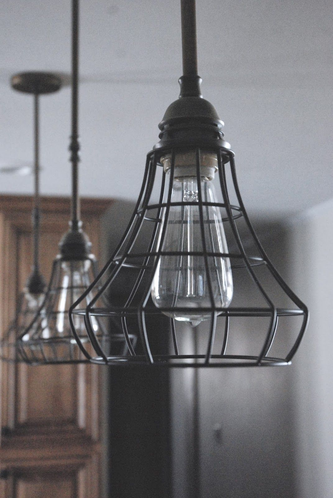 7 Polished Industrial Design To Redesign Your The Home Of Look Extraordinary Cage Pendant Light Cage Light Fixture Industrial Pendant Lights
