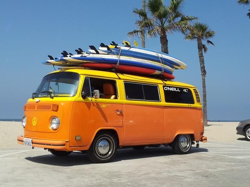 .CalifornIA Vw bus, Volkswagen bus, Vw bus t2