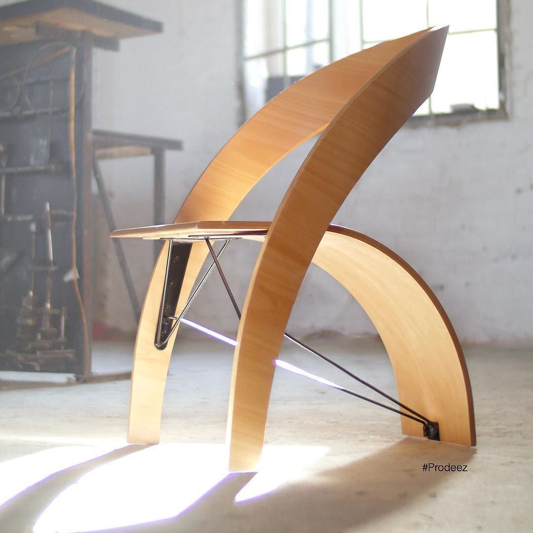 From Prodeez Product Design: Counterpoise Chair by Kaptura