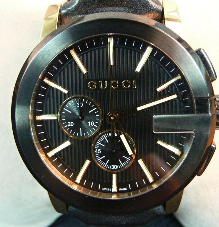 d33cc381ac5 Picture of GUCCI 101.2 G-CHRONO GOLD TONE XL WATCH