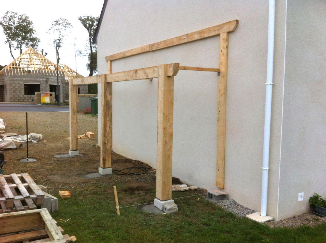 Bonjour Je Me Suis Lance La Semaine Derniere Dans La Construction Dun Abri Bois Il Est Adosse A Un Mur De La Ma En 2020 Abri Bois Abri De Jardin Bois