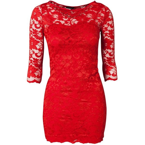 John Zack Slash Neck Lace Dress ( 45) ❤ liked on Polyvore featuring  dresses 49d082517