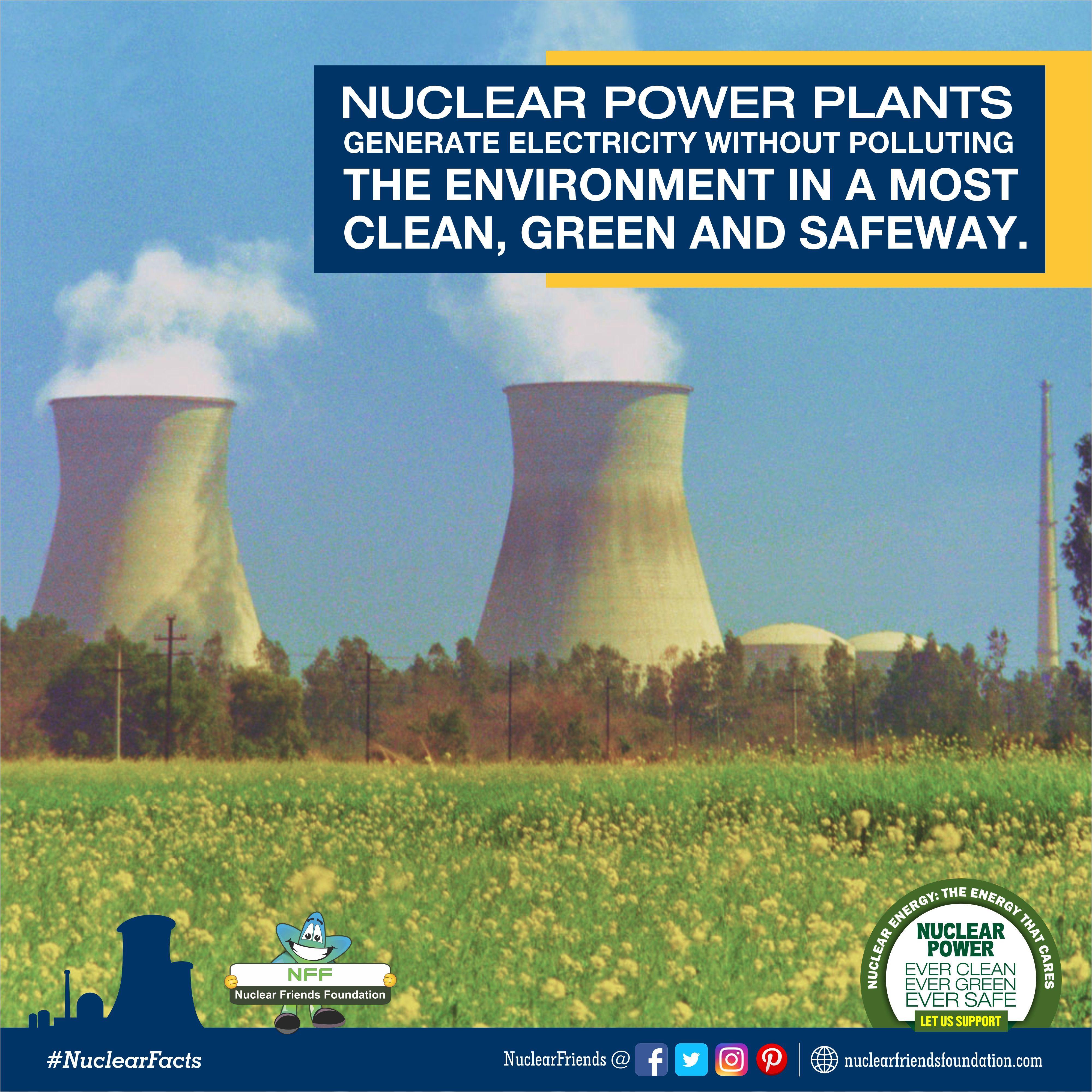 Nuclear Fact Nuclear Power Plant Nuclear Power Nuclear Energy