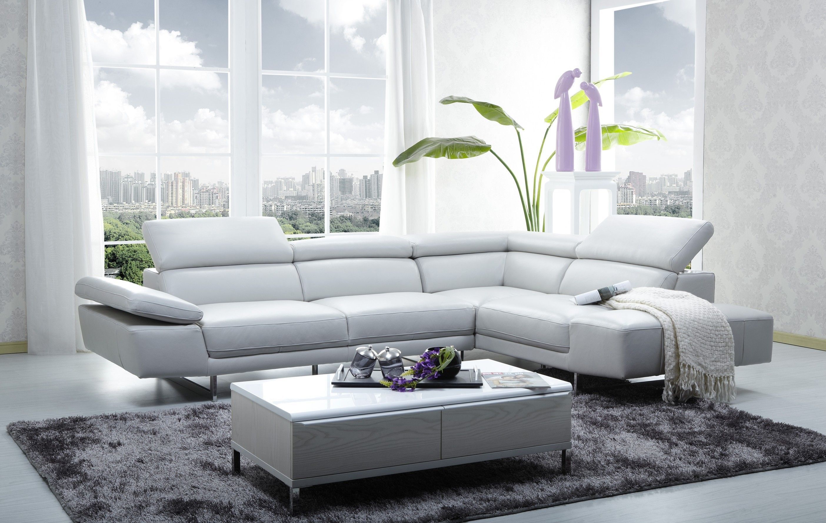 Modern Leather Couch Sofa Offers Great Comfort Darbylanefurniture Com In 2020 White Leather Sofas Modern Sofa Sectional Modern Leather Sectional